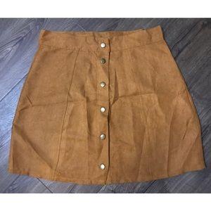 Dresses & Skirts - Button-front mini skirt